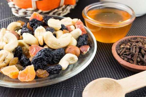 Курага мед изюм грецкий орех чернослива смесь секса полезна